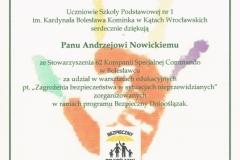 Bezpieczny Dolnoślązak – Kąty Wrocławskie 17.11.2016r.