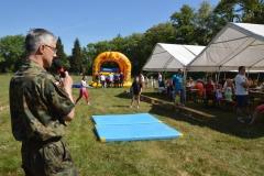 Militarny piknik dla dzieci