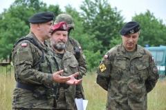 Wizyta gen.dyw.Jarosława Mika