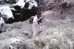 Zimowe szkolenie grupy rekonstrukcyjnej 62 Kompanii Specjalnej