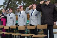 Pożegnanie żołnierzy wyjeżdżających na misję